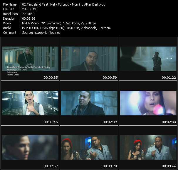 Timbaland Feat. Nelly Furtado video screenshot