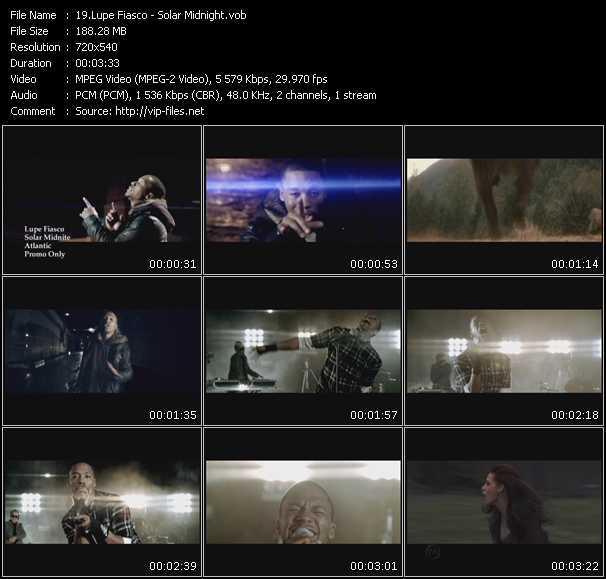 video Solar Midnight screen