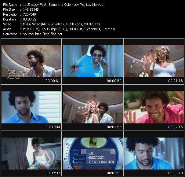 Shaggy Feat. Samantha Cole video screenshot