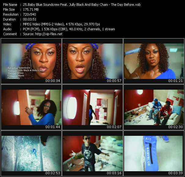 Baby Blue Soundcrew Feat. Jully Black And Baby Cham video screenshot