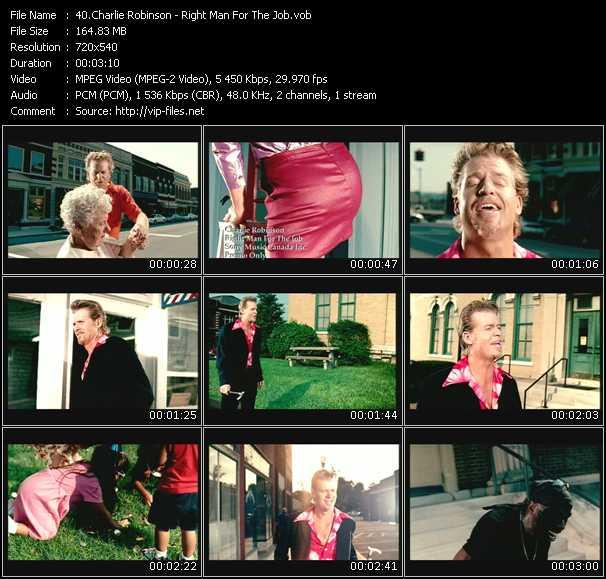 Charlie Robinson video screenshot
