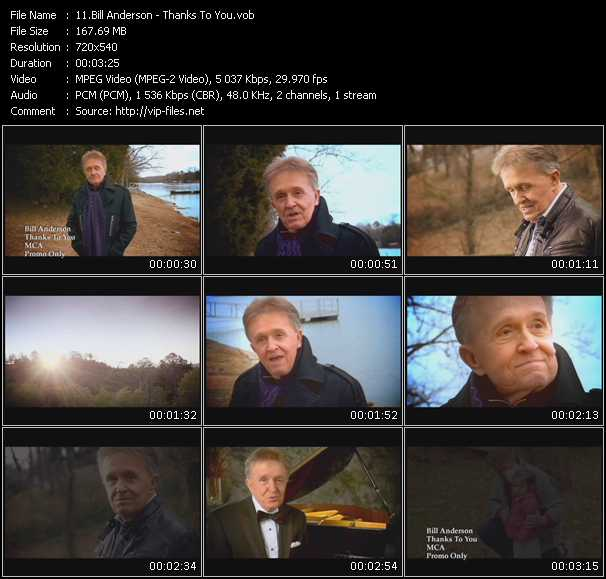 Bill Anderson video screenshot