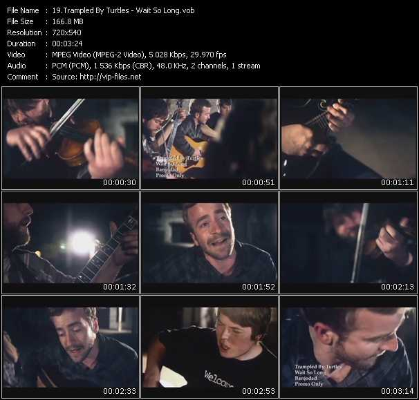 Trampled By Turtles video screenshot