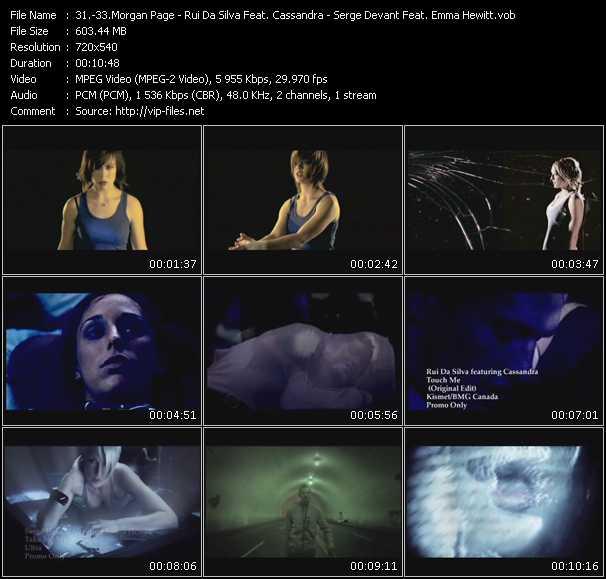 Morgan Page - Rui Da Silva Feat. Cassandra - Serge Devant Feat. Emma Hewitt video screenshot