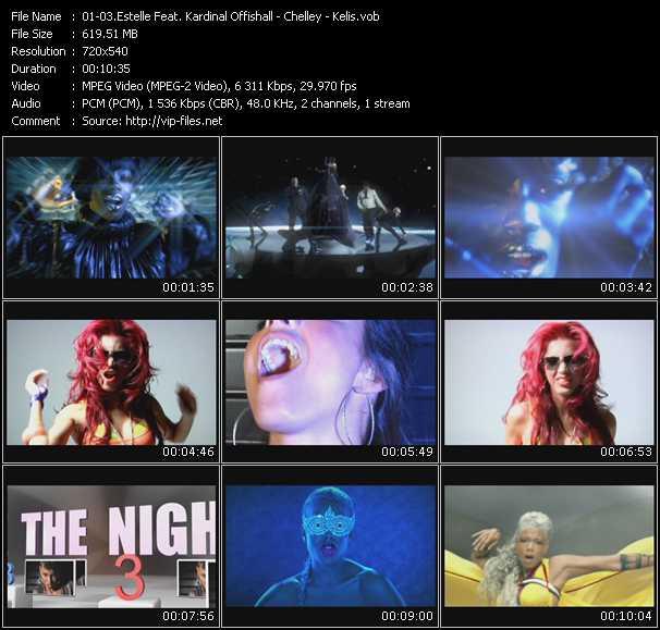 Estelle Feat. Kardinal Offishall - Chelley - Kelis video screenshot