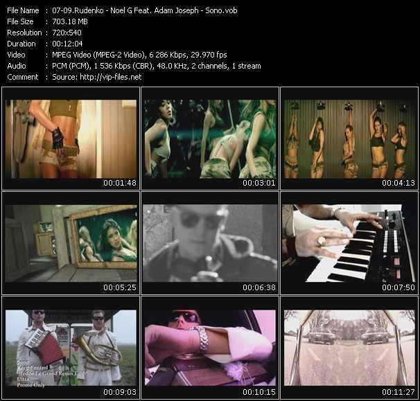 Rudenko - Noel G. Feat. Adam Joseph - Sono video screenshot