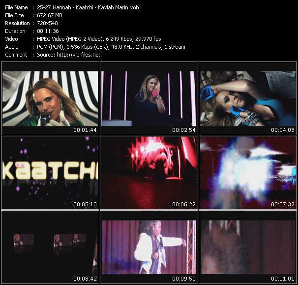 Hannah - Kaatchi - Kaylah Marin video screenshot