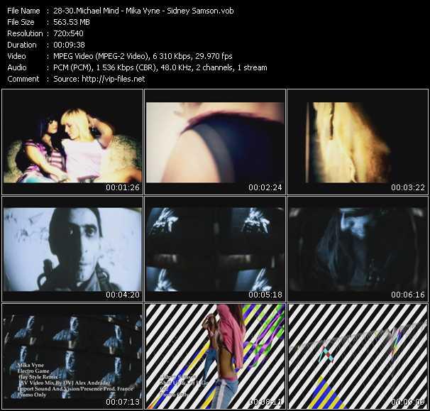 Michael Mind - Mika Vyne - Sidney Samson video screenshot