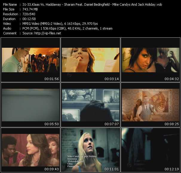 Klaas Vs. Haddaway - Sharam Feat. Daniel Bedingfield - Mike Candys And Jack Holiday video screenshot