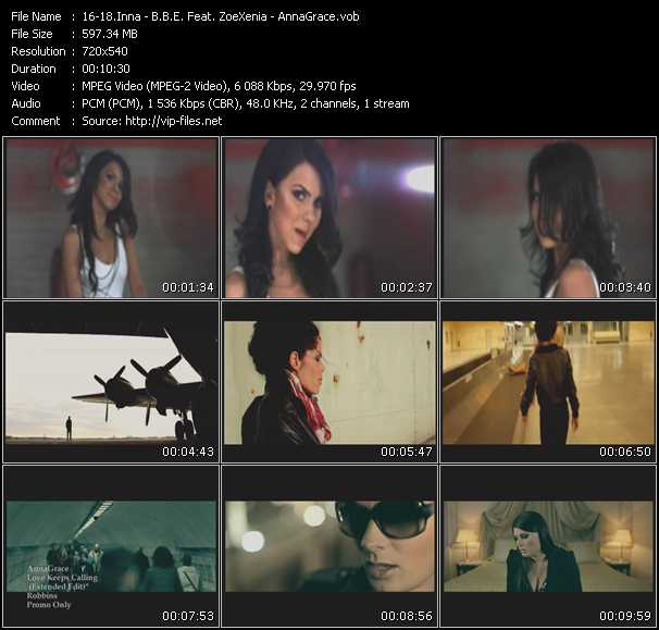 Inna - B.B.E. Feat. ZoeXenia - AnnaGrace video screenshot