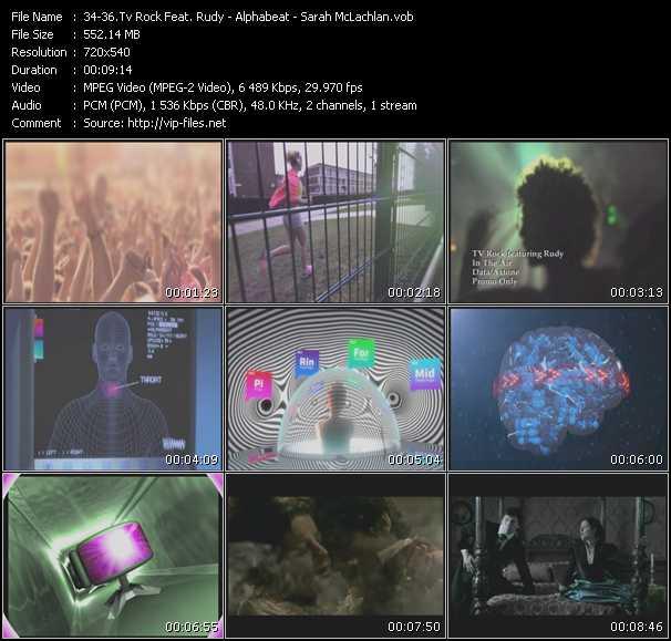 TV Rock Feat. Rudy - Alphabeat - Sarah McLachlan video screenshot