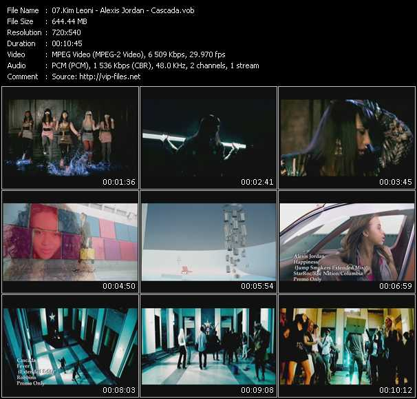 Kim Leoni - Alexis Jordan - Cascada video screenshot