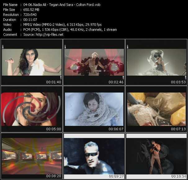 Nadia Ali - Tegan And Sara - Colton Ford video screenshot