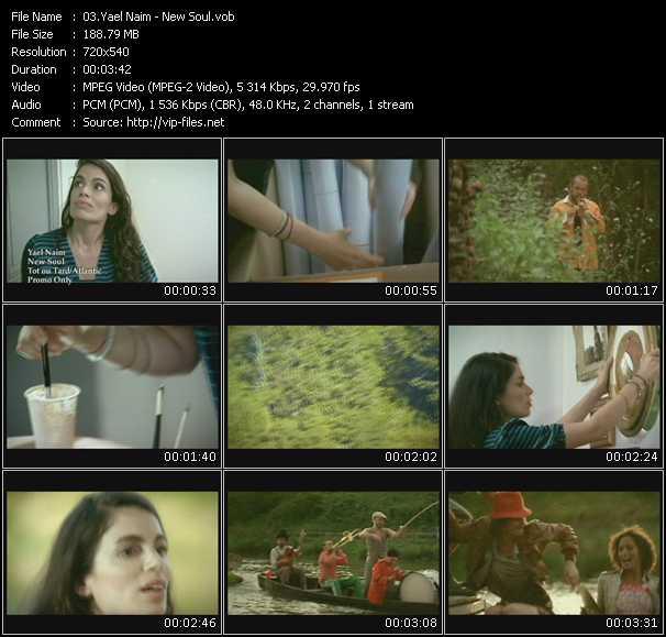 Yael Naim video screenshot
