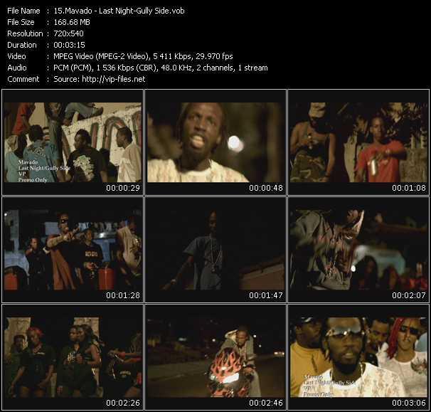 Mavado video screenshot