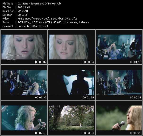 I Nine video screenshot