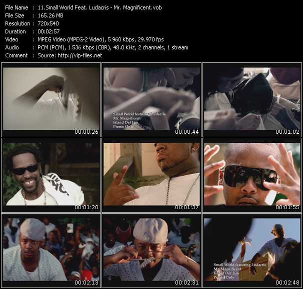Small World Feat. Ludacris video screenshot