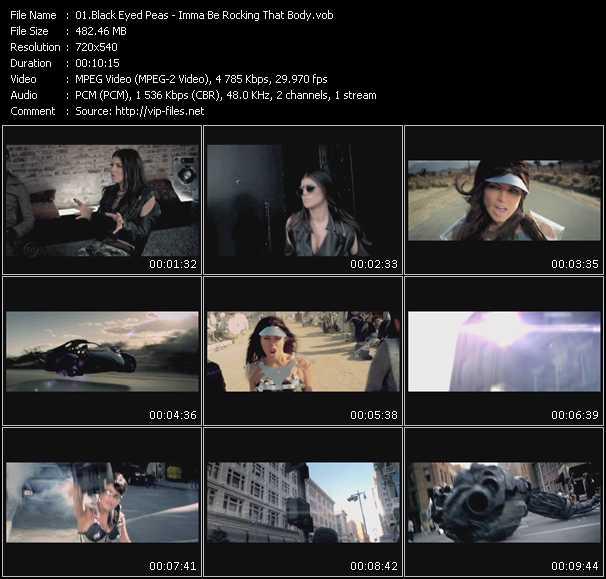 Black Eyed Peas video screenshot