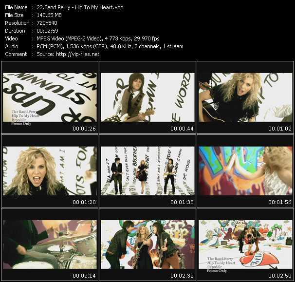 Band Perry video screenshot