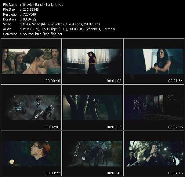 Alex Band video screenshot
