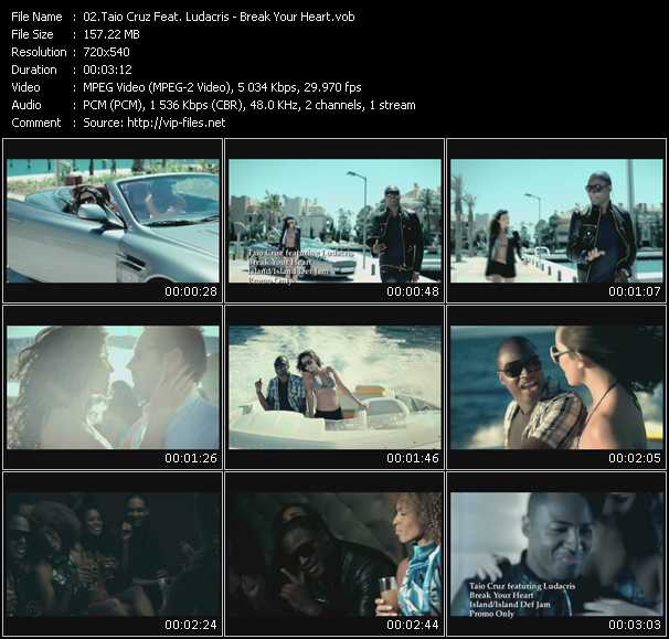 Taio Cruz Feat. Ludacris video screenshot