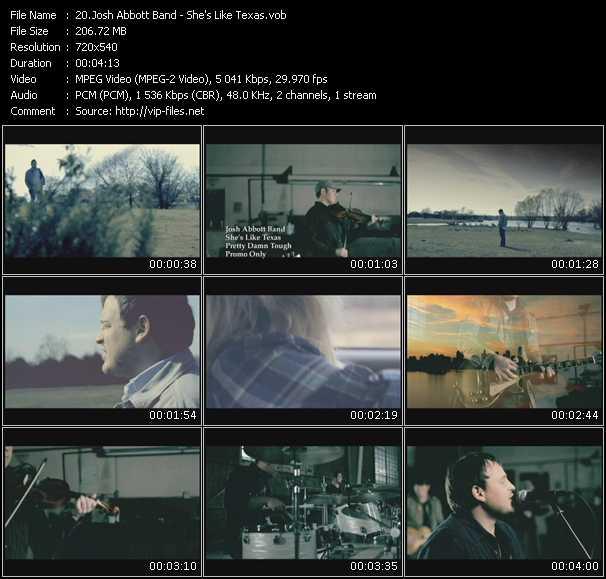 Josh Abbott Band video screenshot