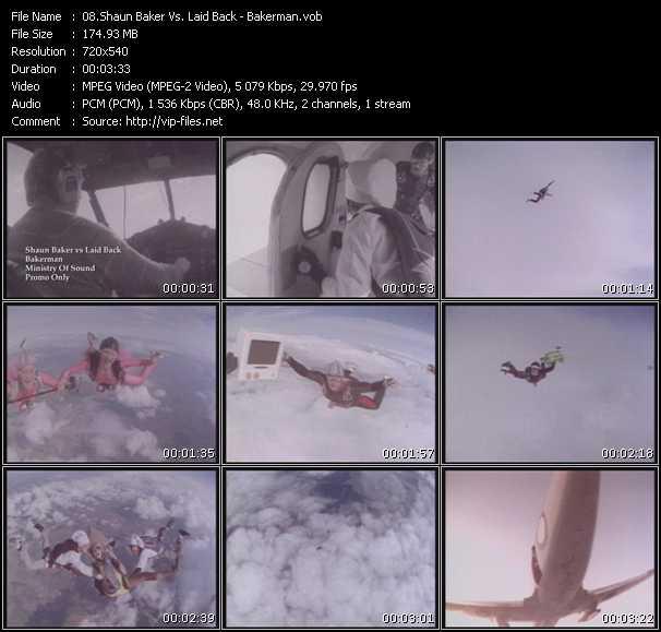 Shaun Baker Vs. Laid Back video screenshot