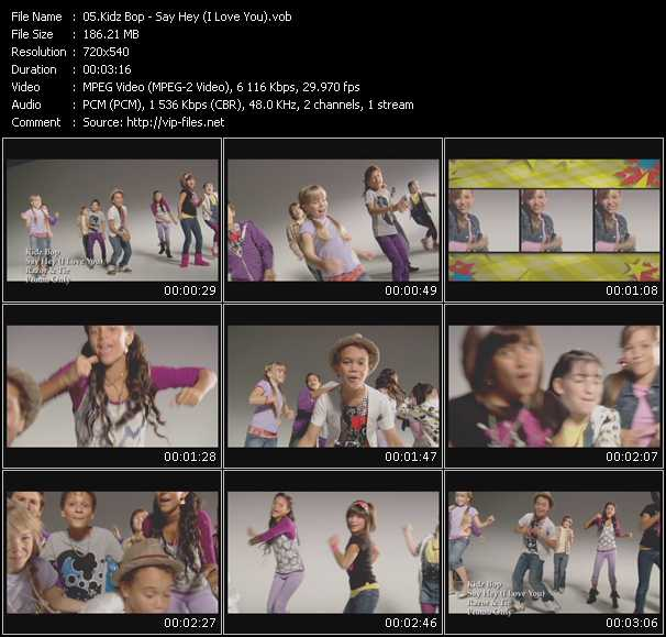 Kidz Bop video screenshot