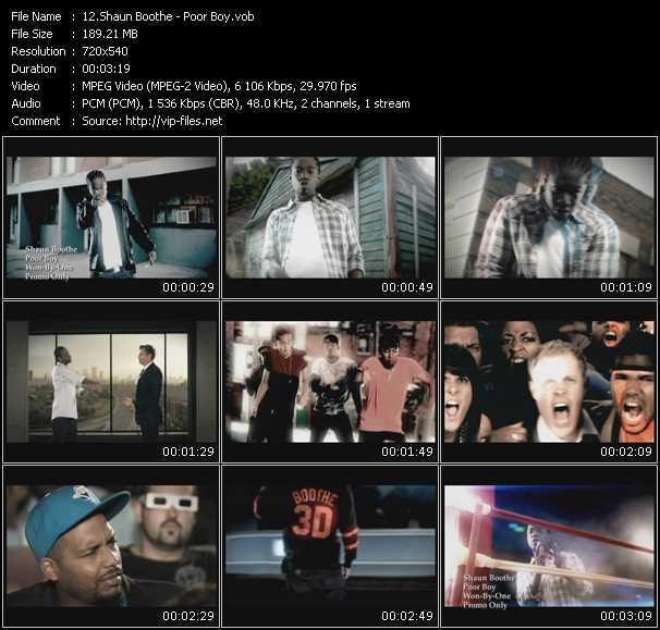 Shaun Boothe video screenshot