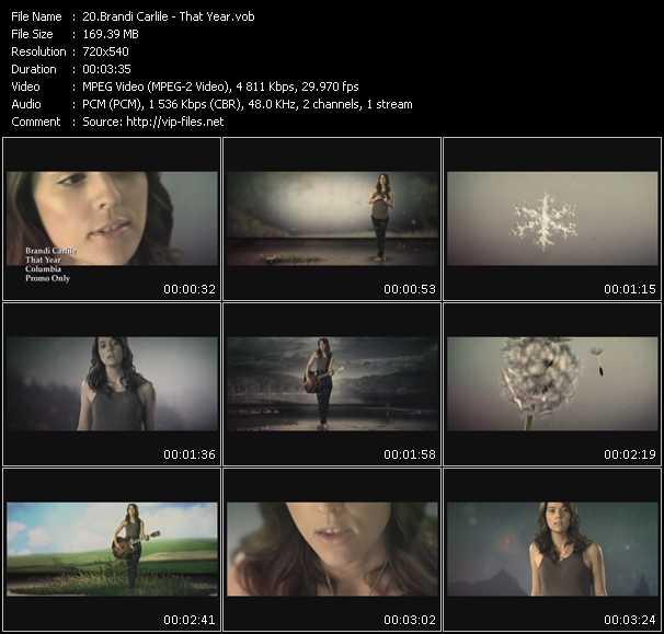 Brandi Carlile video screenshot