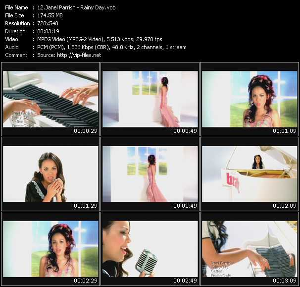 Janel Parrish video screenshot