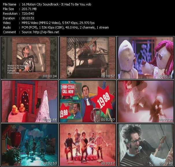 Motion City Soundtrack video screenshot