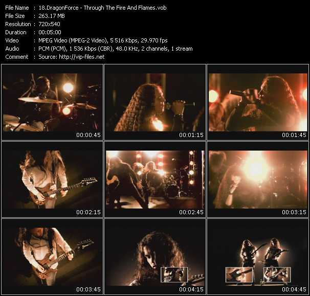 DragonForce video screenshot