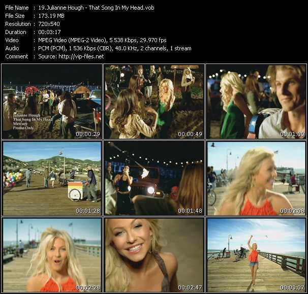 Julianne Hough video screenshot