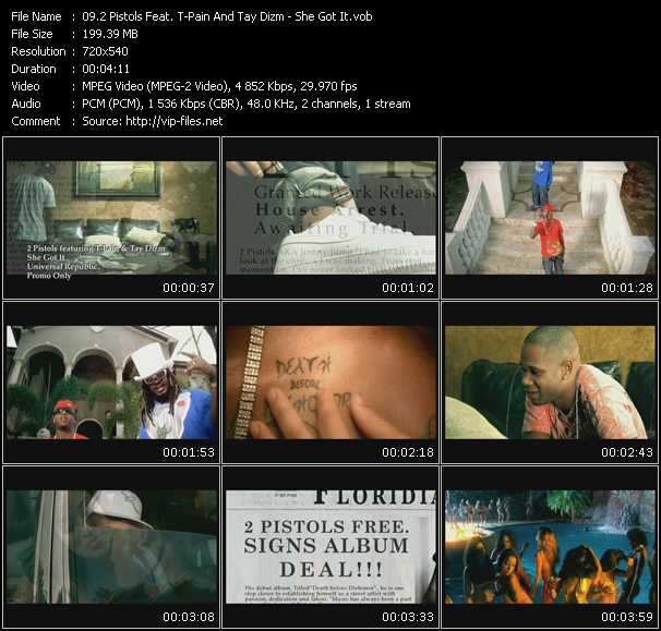 2 Pistols Feat. T-Pain And Tay Dizm video screenshot