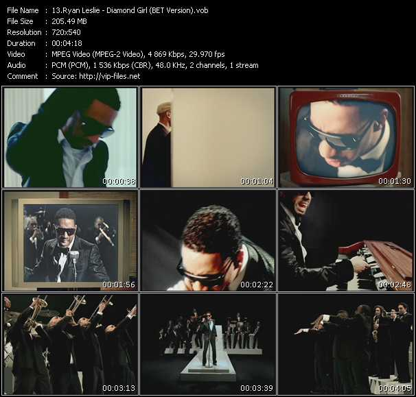 Ryan Leslie video screenshot