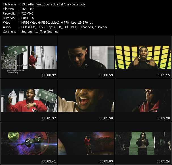 Ja-Bar Feat. Soulja Boy Tell 'Em video screenshot