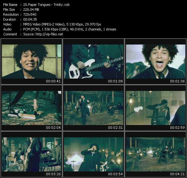 Paper Tongues video screenshot