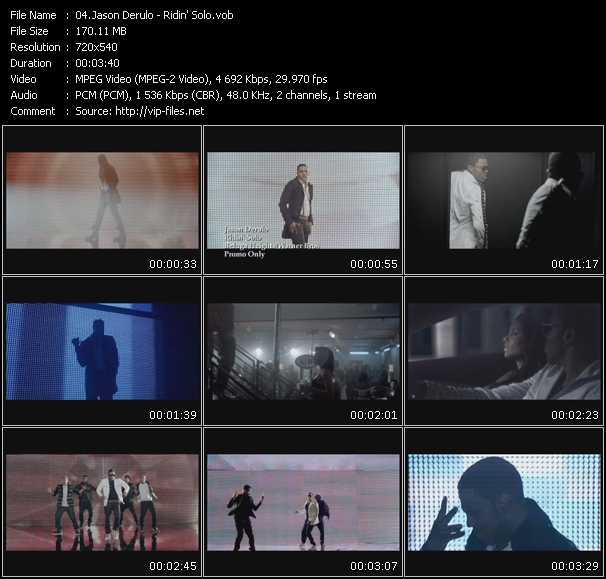 video Ridin' Solo screen