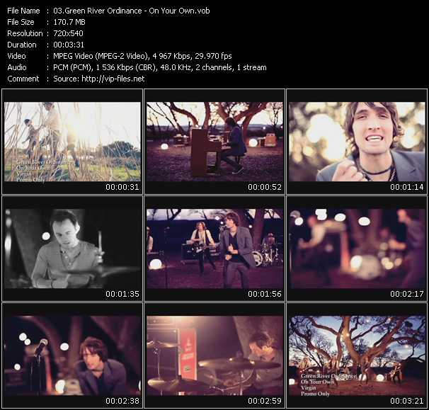 Green River Ordinance video screenshot