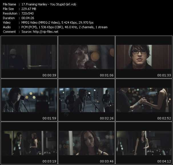 Framing Hanley video screenshot