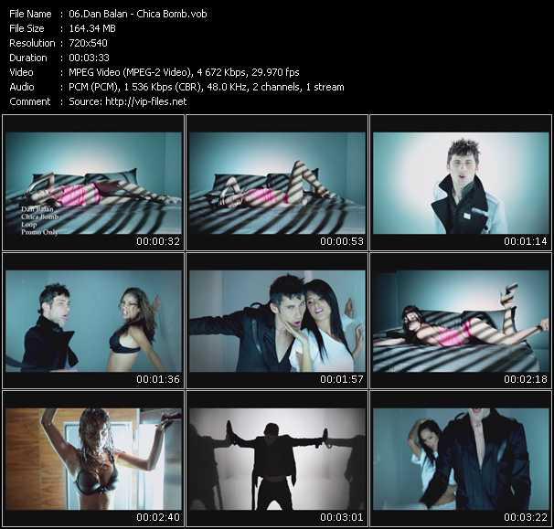 Dan Balan video screenshot