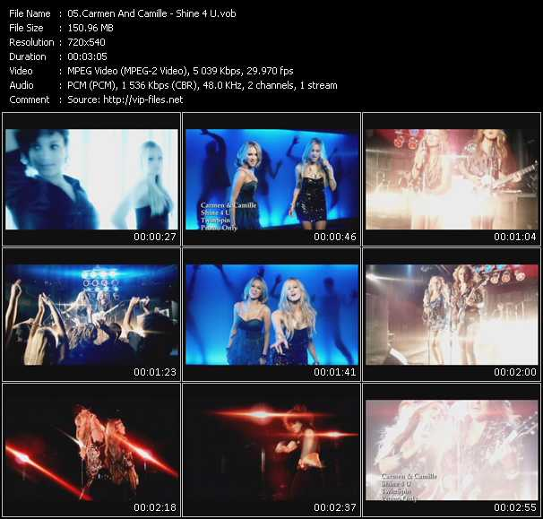 Carmen And Camille video screenshot