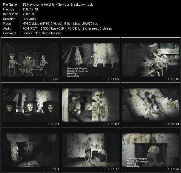 Hawthorne Heights video screenshot