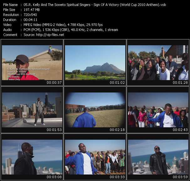R. Kelly And The Soweto Spiritual Singers video screenshot