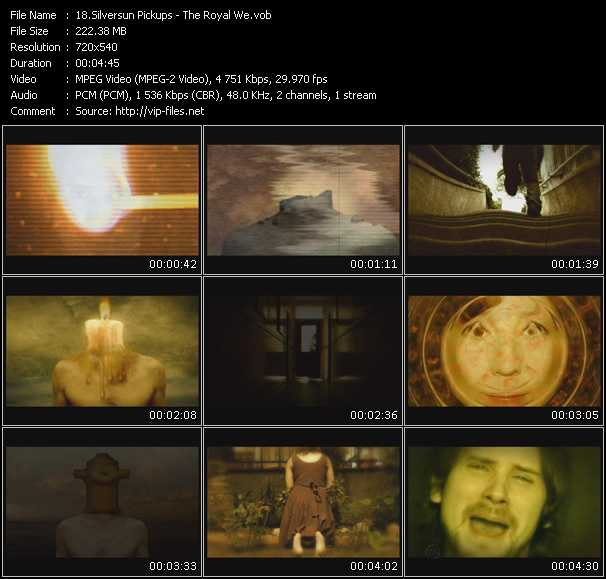 Silversun Pickups video screenshot