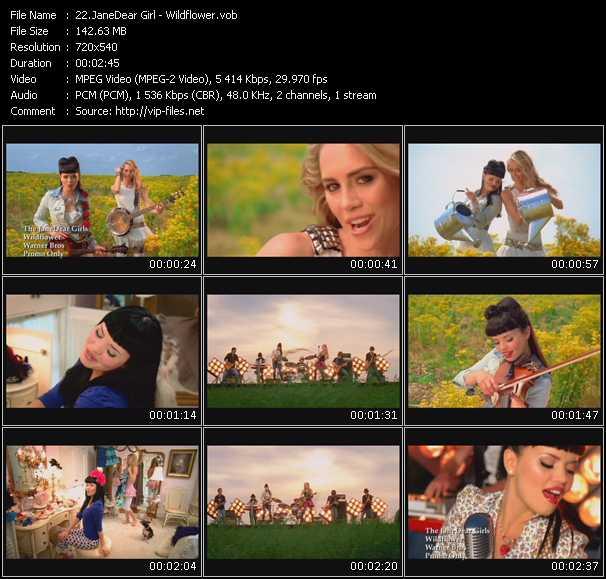 JaneDear Girl video screenshot