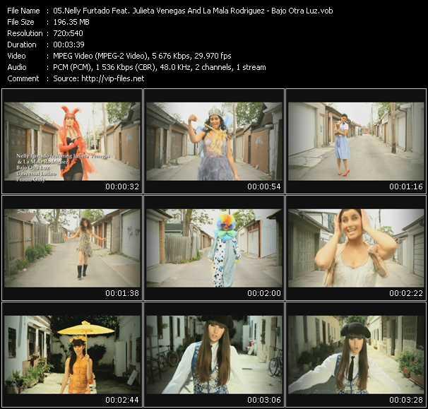 Nelly Furtado Feat. Julieta Venegas And La Mala Rodriguez video screenshot