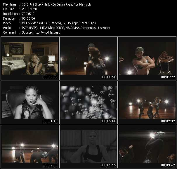 Britni Elise video screenshot