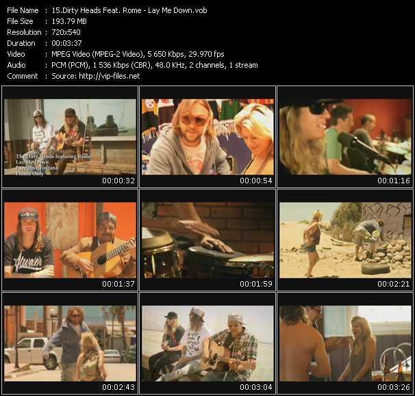 Dirty Heads Feat. Rome video screenshot